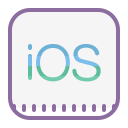 iOS Logo icon