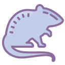 Rat Silhouette icon
