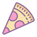 Salami Pizza icon