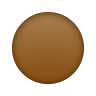 Brown Circle icon