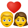 Couple With Heart Woman Man icon
