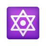 Dotted Six-pointed Star icon