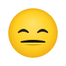 Expressionless Face icon