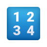 Input Numbers icon