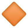 Large Orange Diamond icon