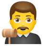 Man Judge icon
