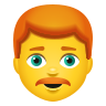 Man Red Hair icon