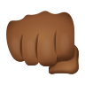 Oncoming Fist Medium Dark Skin Tone icon