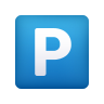 P Button icon