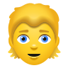 Person Blond Hair icon