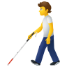 Person With White Cane icon