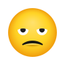Slightly Frowning Face icon
