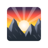 Sunrise Over Mountains icon