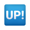 UP! Button icon