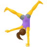Woman Cartwheeling icon