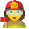 Woman Firefighter icon