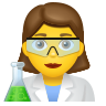 Woman Scientist icon