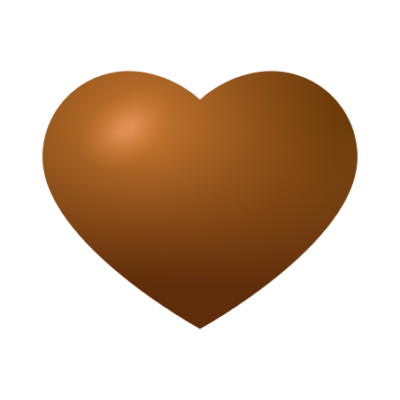 Brown Heart icon