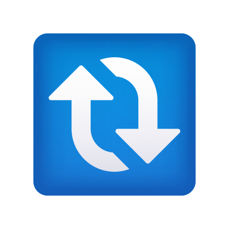Сlockwise Vertical Arrows icon