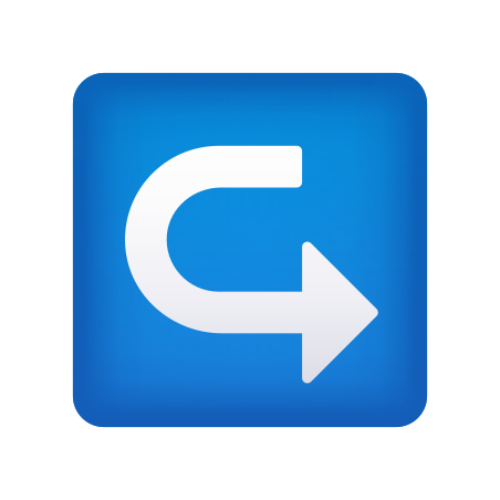 Left Curving Right icon