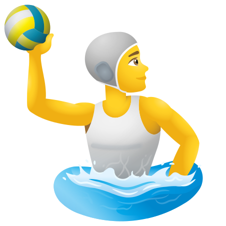 Person Playing Water Polo icon