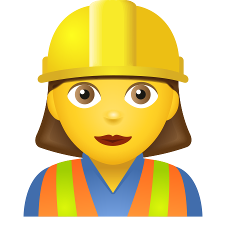 Woman Construction Worker icon