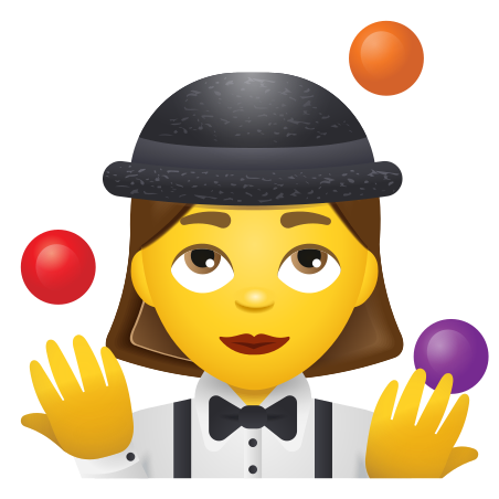 Woman Juggling icon