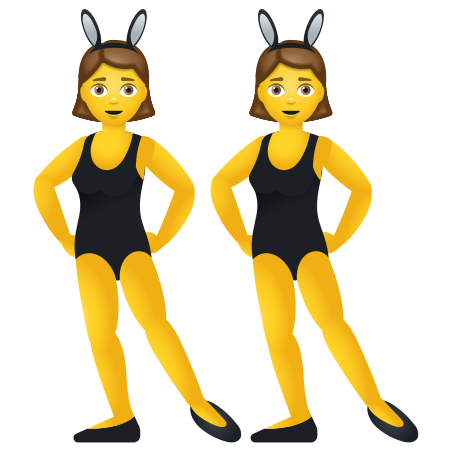Women With Bunny Ears icon