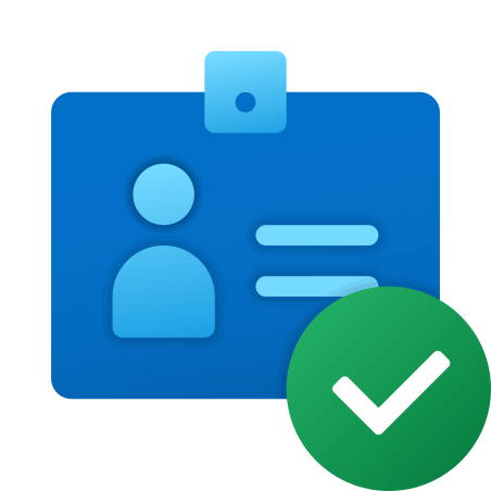 Checked Identification Documents icon