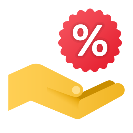 Get a Discount icon