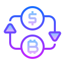 Dollar Bitcoin Exchange icon