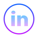 LinkedIn Circled icon