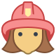 Fireman Female icon