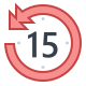 skip 15-seconds-back icon