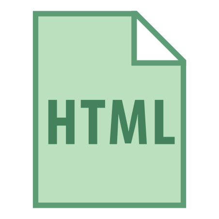 HTML Filetype icon