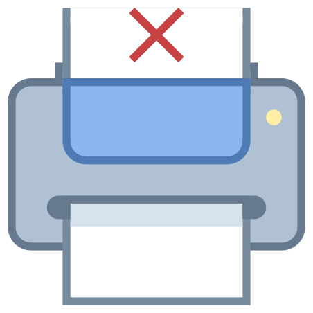 Printer Out of Paper icon