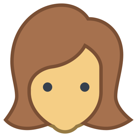 User Female Skin Type 4 icon