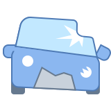 Crashed Car icon
