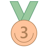 Medal Third Place icon