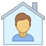 Person at Home icon