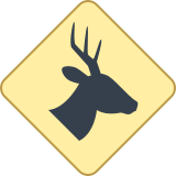 Wild Animals Sign icon