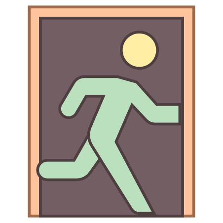 Exit Sign icon