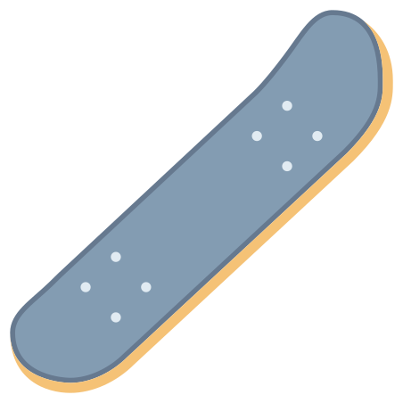 Skateboard Without Wheels icon
