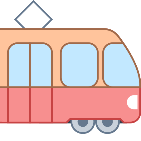 Tram Side View icon