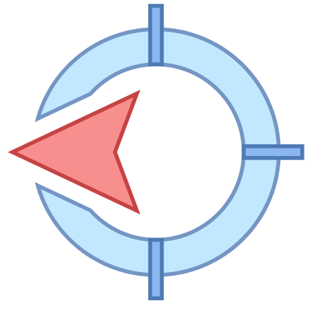 West Direction icon