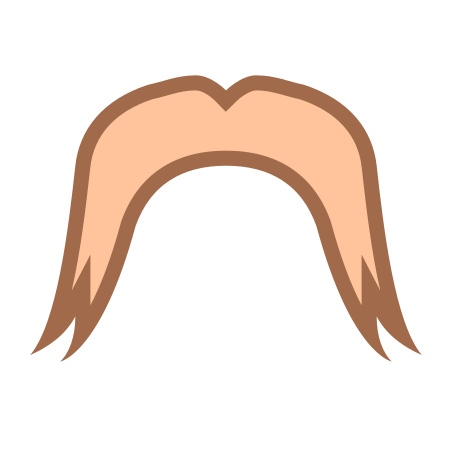 Lars The Viking Mustache icon