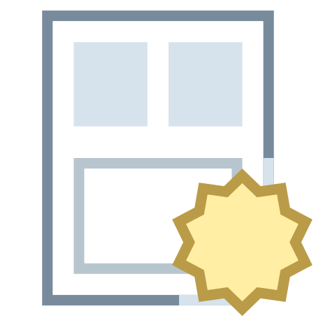 New Resume Template icon