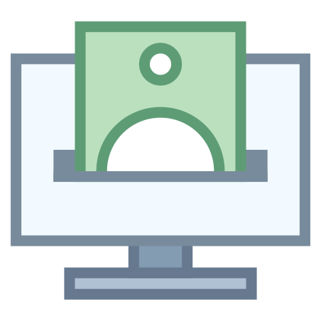 Online Money Transfer icon