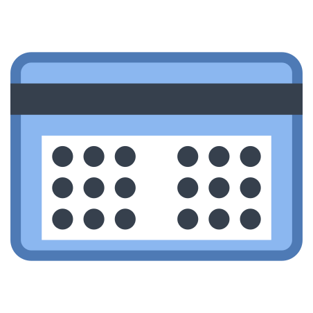 Token Card Code icon