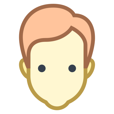 User Male Skin Type 1 2 icon